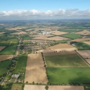 Aerial View of Norfolk